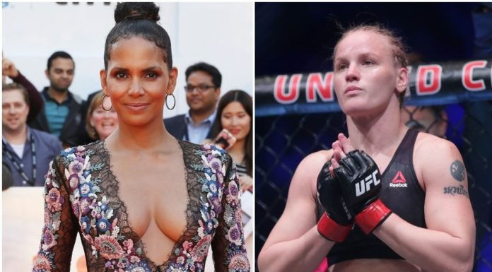 I really broke some bones Hollywood star Halle Berry speaks on bruising fight scenes with UFC champ Valentina Shevchenko