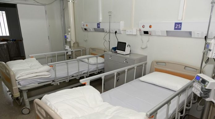 In the hospitals of Wuhan not a single patient with coronavirus