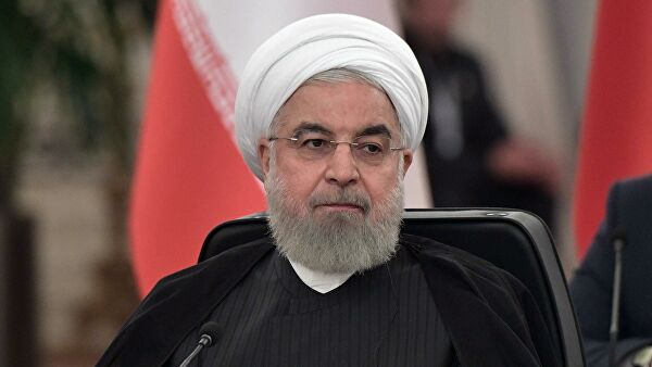 Rouhani appreciated the idea of the summit Russia Iran Turkey video