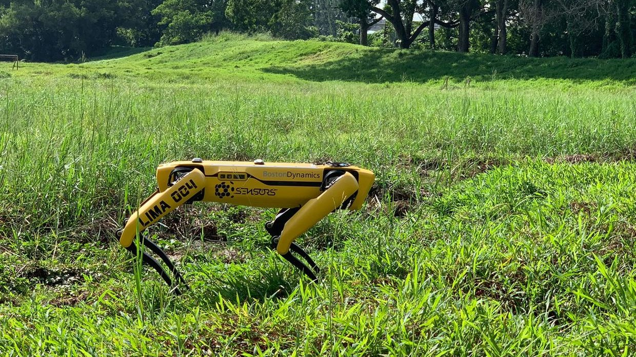Covid-19: Singapore Deploys Robot Dogs To Enforce Social Distancing