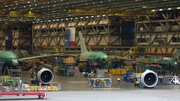 27000 back to work Boeing to restart production at Washington state plant next week as company suffers amid Covid 19 shutdown