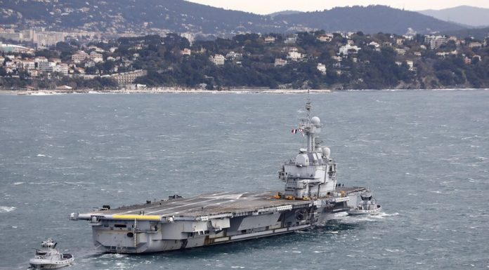 """50 crew members of the aircraft carrier """"Charles de Gaulle"""" discovered coronavirus"""