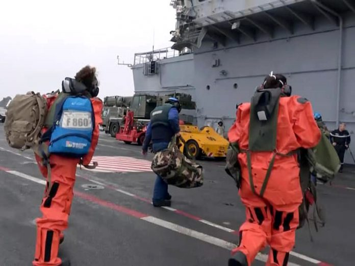 50 sailors caught COVID-19 on the French aircraft carrier