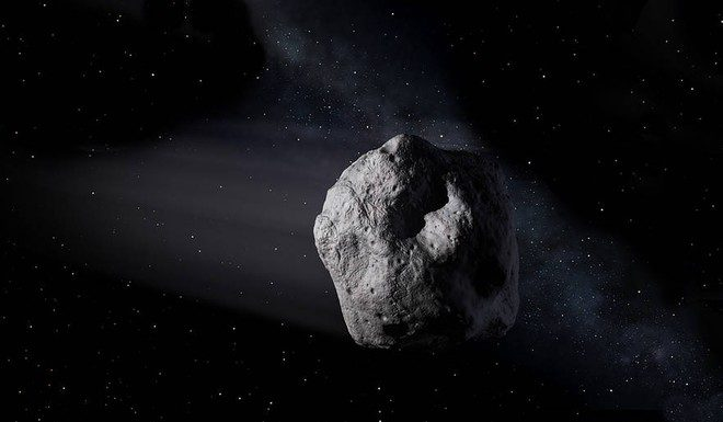 An asteroid the size of a mountain is approaching the Earth