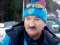 the Main coach of Russian national team on biathlon Anatoly Kovantsev