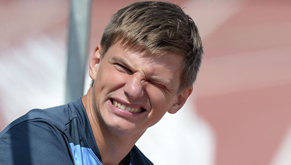 Arshavin was again caught for a violation of