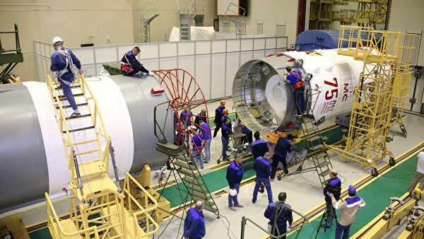 At Baikonur started refuelling of the Rocket Victory