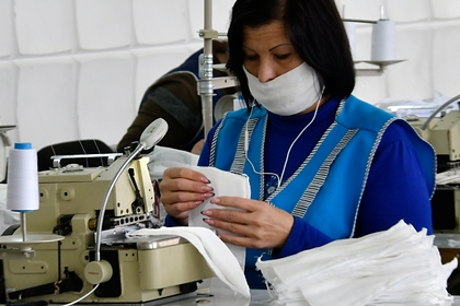 Availability of masks in Russian pharmacies appreciated