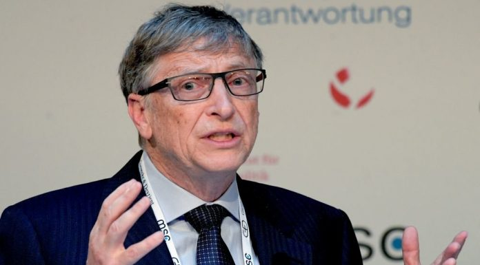 Bill gates described the timing of actual occurrence of vaccine COVID 19