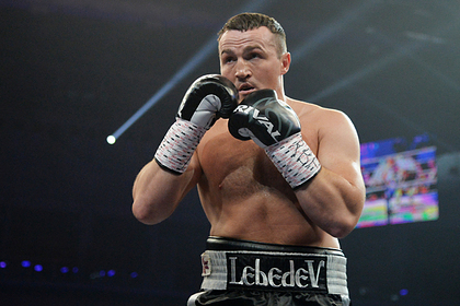 Boxer Lebedev told about the support from Putin