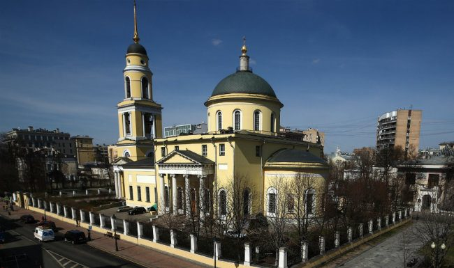 Church service in Moscow will be held without a congregation