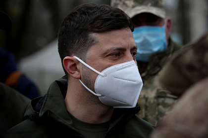Could not resist Zelensky grossly violated the quarantine and caught