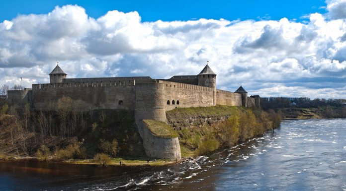Four Africans tried to get from Russia to Estonia, across the Narva