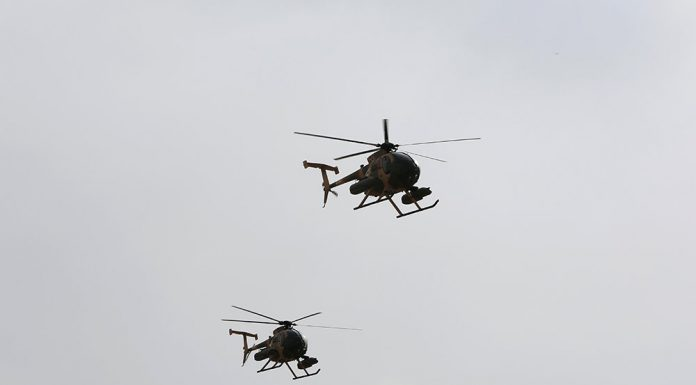 Helicopters with ISIS militants has resumed flights in the North of Afghanistan
