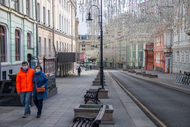 In Moscow began to issue passes for movement through the city