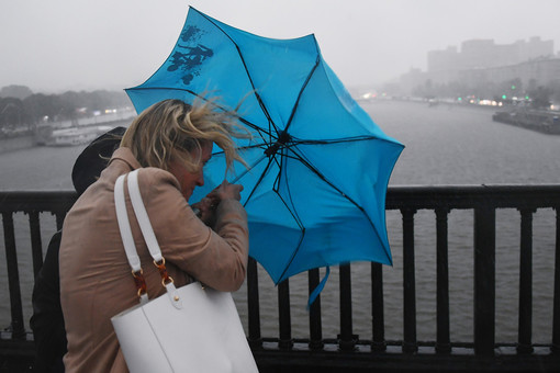 In Moscow declared a yellow level weather risk
