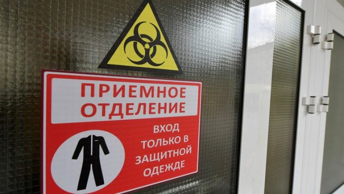 In Russia for the day has recorded nearly 1800 cases of infection with coronavirus