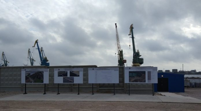 In Sevastopol started the construction of the training center divers of the Navy