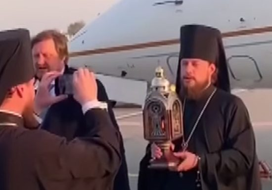 Kolomoisky gave his plane to deliver the Holy fire to Ukraine