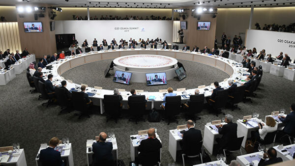 Lavrov expressed the interest of the G20 countries in the common fight against COVID 19