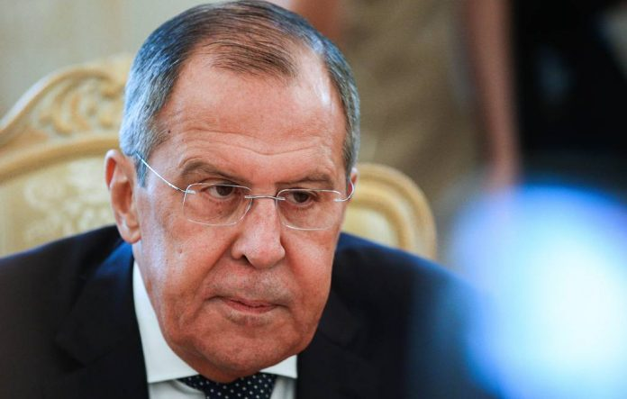 Lavrov isolated themselves at work