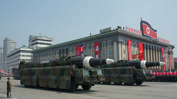 Media DPRK launched a few cruise missiles short range