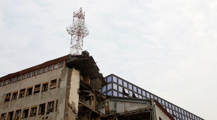 NATO forces 21 years ago attacked the building of Radio television Serbia