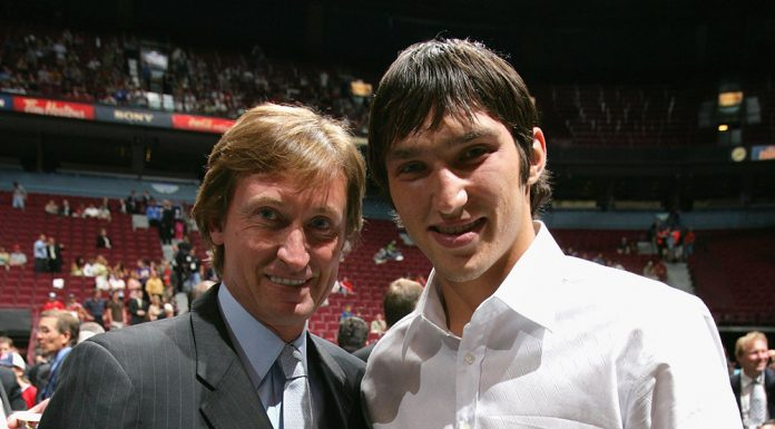 Ovechkin and Gretzky will play against each other