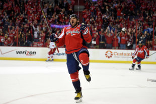 Ovechkin named the best NHL player in his age category
