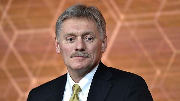 Peskov told about the work with the regions slow running tasks
