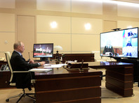 Russian President Vladimir Putin held a meeting on the sanitary-epidemiological situation in the country. The event was held in a videoconference format