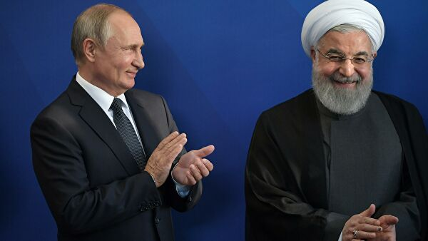 Putin and Rouhani discussed the consultation Astana Troika on Syria