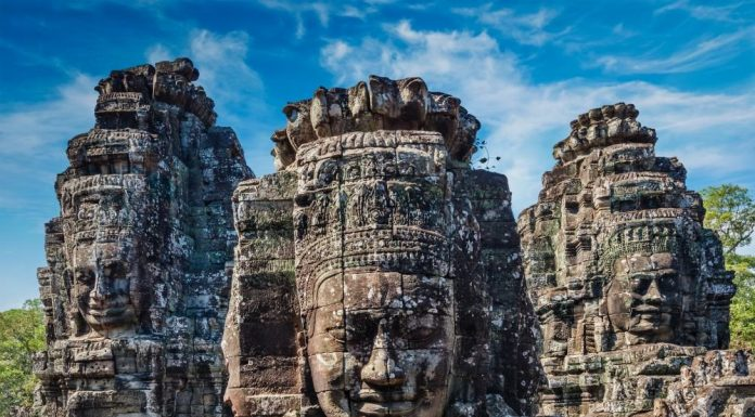 Refuted theory about the sudden collapse of Angkor