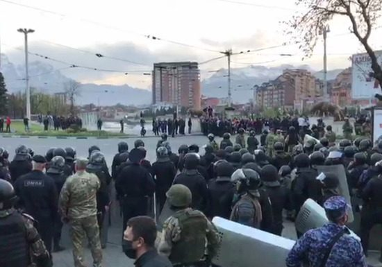 Residents of Vladikavkaz explained the protest because of the isolation people have nothing to eat