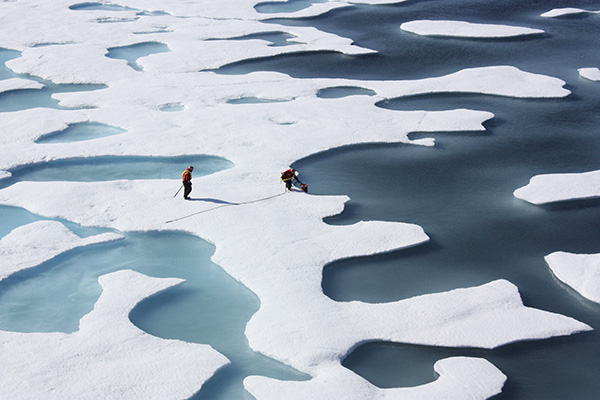 Risks from natural phenomena in the Arctic decided to calculate