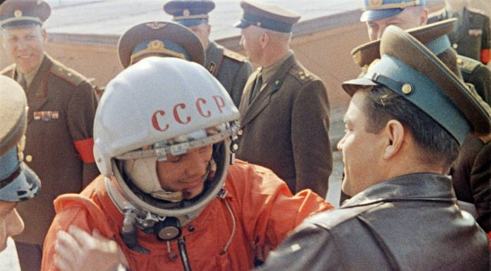 Russia reminded the United States the name of the first cosmonaut