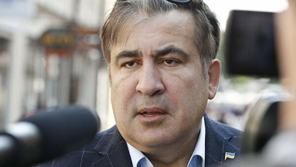 Saakashvili called himself a supporter of peace with Russia