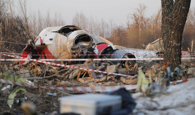 SK spoke about the investigation into the crash of the Polish Tu-154M in Smolensk