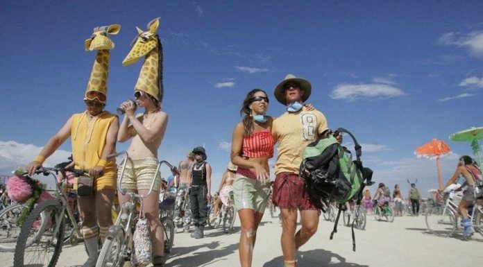 The American Burning Man festival canceled due COVID-19