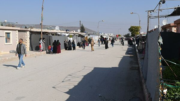 The Arab League warned about the risk COVID 19 in the camps of Syrian refugees