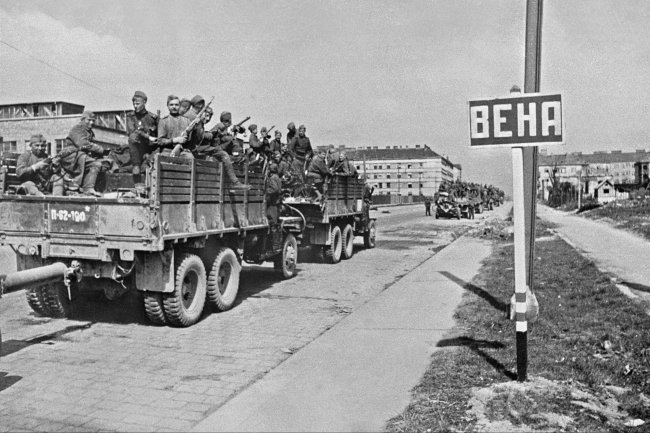 The defense Ministry has declassified documents about the liberation of the Austrian capital