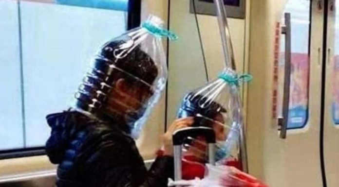 "The expert appreciated the ""welders mask"" for protection against coronavirus"