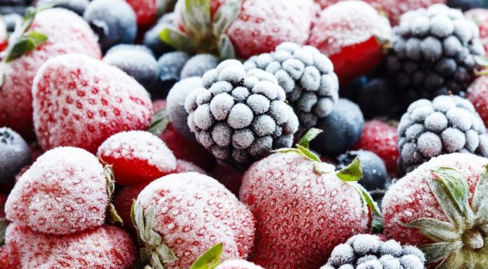 The expert recommended to use frozen berries during the isolation