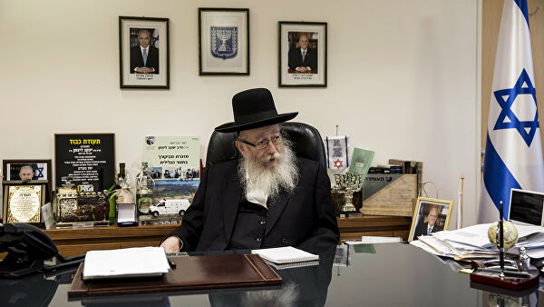 The head of the health Ministry of Israel announced his resignation