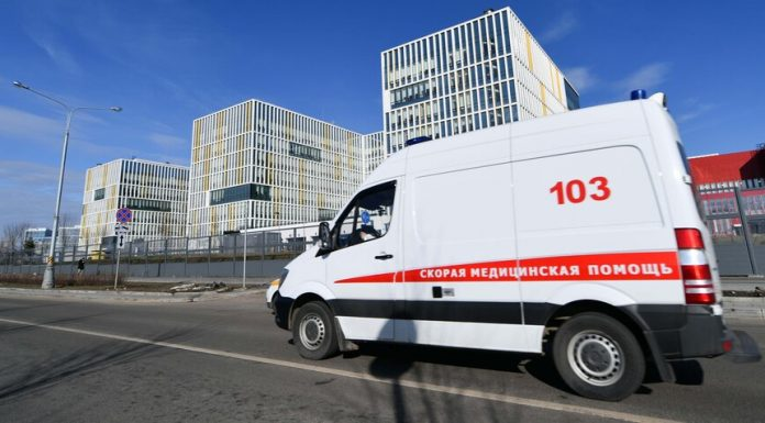 The medical center in Kommunarka for the day, there were 49 patients