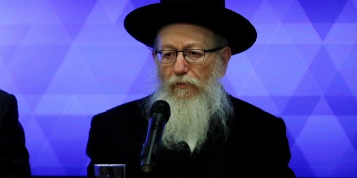 The Minister of health of Israel has asked for the resignation