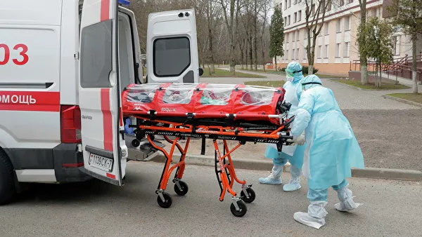 The Ministry of health of Belarus released statistics on COVID 19