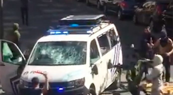 The people of Brussels to protest after death of 19-year-old offender quarantine in a police chase (VIDEO)