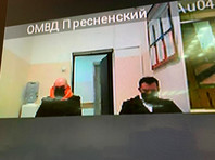 Jesus Vorobyov was arrested while he was walking his dog at Patriarshiye ponds 4 April. Presnensky court of Moscow on April 6 Vorobyov was fined 1,000 rubles