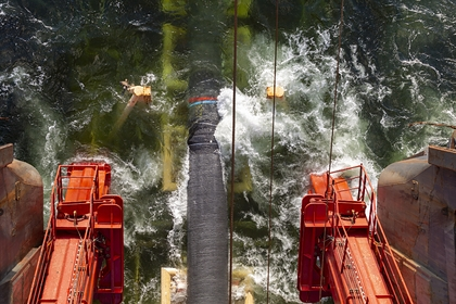 The ship to complete the Nord stream 2 has gone back